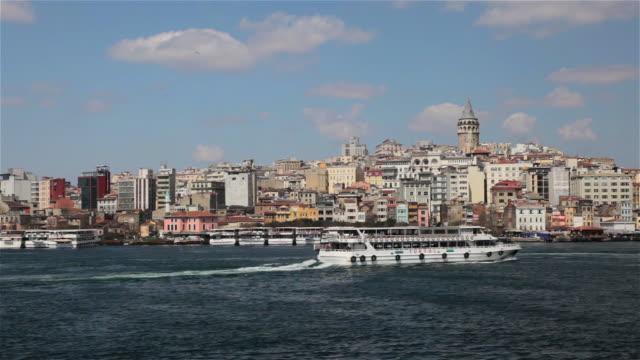 istanbul - イスタンブール 金角湾点の映像素材/bロール