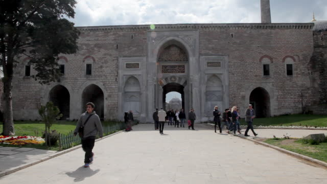 istanbul - topkapi palace stock videos and b-roll footage
