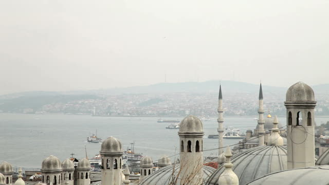 istanbul - minaret stock videos & royalty-free footage