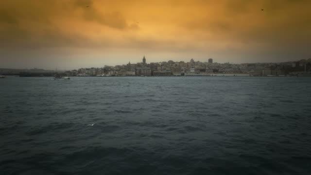istanbul - galataturm stock-videos und b-roll-filmmaterial