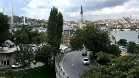 イスタンブール - 跳開橋点の映像素材/bロール