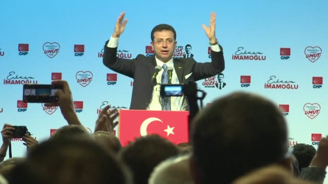 TUR: Deposed Istanbul mayor blasts lies used to annul election