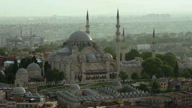 istanbul's stunning suleymaniye mosque - suleymaniye mosque stock videos and b-roll footage