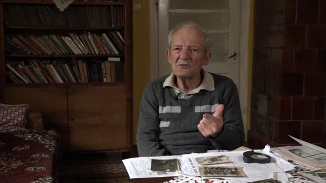 istvan petnehazy 86 was born and has lived his life in the same house in the same village less than a kilometre into ukraine from the hungarian border - kilometre stock videos & royalty-free footage