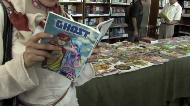 it is a massively popular book form that originated in japan where it became a cultural phenomenon clean : algeria's home-grown manga a hit with the... - manga style stock videos & royalty-free footage