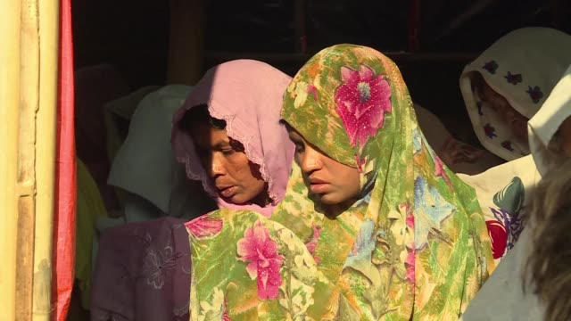 It is known as widows camp a sanctuary off limits to men inside Bangladesh's congested refugee settlements where Rohingya women and children...