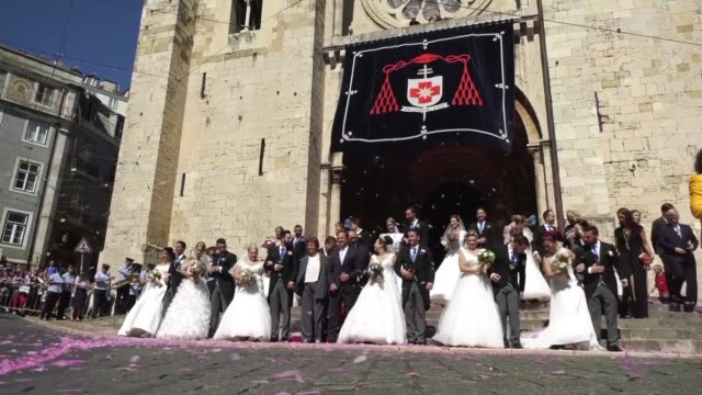 PRT: Lisbon fetes saint of love with free deluxe weddings