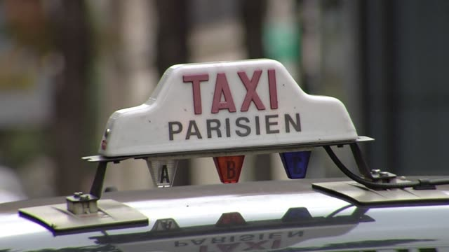 it the world most popular tourist destination but paris is struggling with a lack of taxi clean pedestrians kicked to curb by on october 11 2013 in... - kerb stock videos and b-roll footage