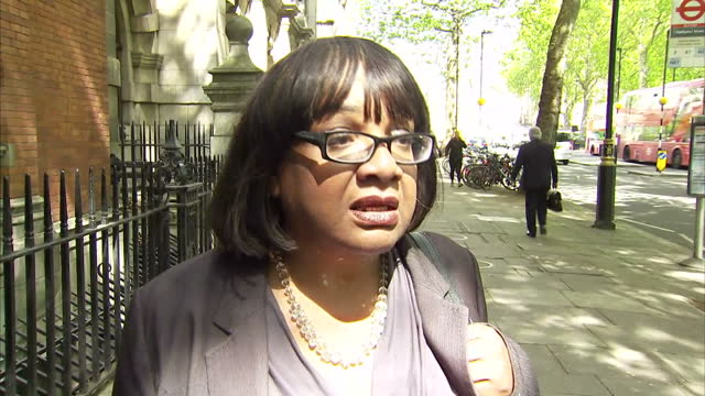 it was only one interview out of several but it dominated today's election campaign speaking to the radio station lbc labour's shadow home secretary... - diane abbott stock videos & royalty-free footage