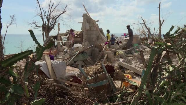 it was slow coming but aid is finally fanning out across haiti after last weeks devastating hurricane matthew which killed nearly 500 and left 14... - straits stock videos and b-roll footage