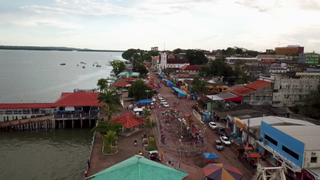 vídeos y material grabado en eventos de stock de itaituba is a remote amazon town in the state of para and is experiencing a gold boom mostly gold from indigenous land such as the munduruku the... - amazonas state brazil