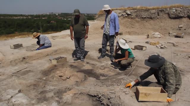 italian archaeologists thursday hailed a decision to add a 30-meter-high archaeological mound in southeastern turkey to the unesco world heritage... - add list stock videos & royalty-free footage