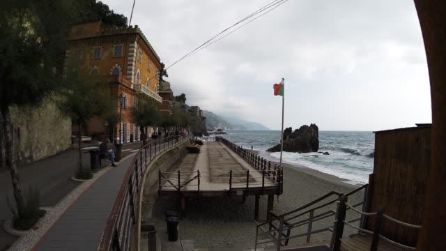 italian coastline - italian flag stock videos and b-roll footage