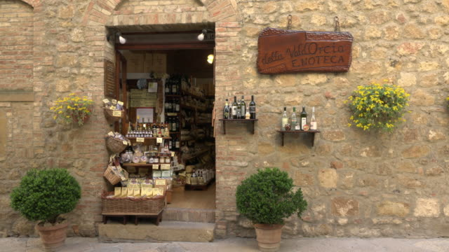 italian delicatessen shop - italian food stock videos and b-roll footage
