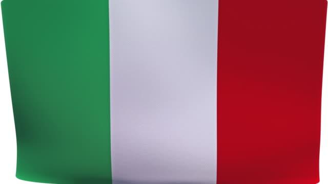 italian flag intro - italian culture stock videos & royalty-free footage