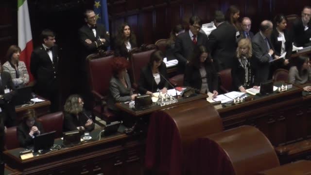 イタリア議会の映像素材とBロー...