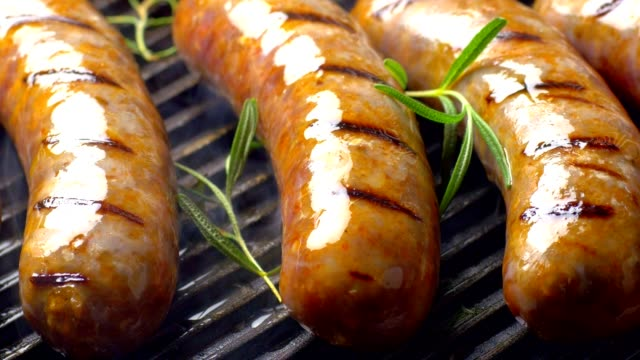 italian sausage - hot dog stock videos & royalty-free footage