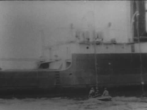 italian steamer stromboli forced to surrender by u 35 german submarine - 1917 stock videos & royalty-free footage