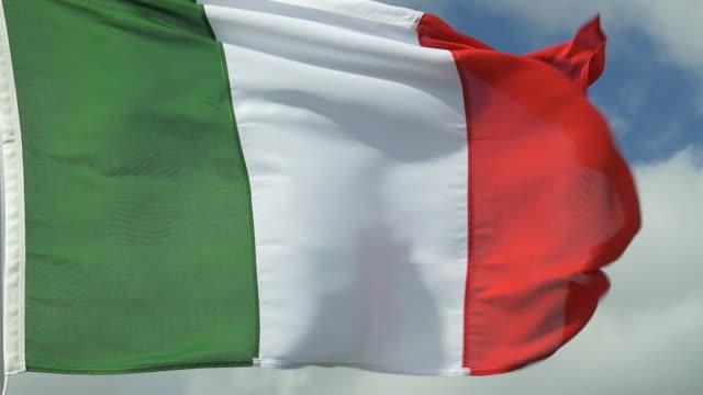 italian tricolour - italian flag stock videos and b-roll footage