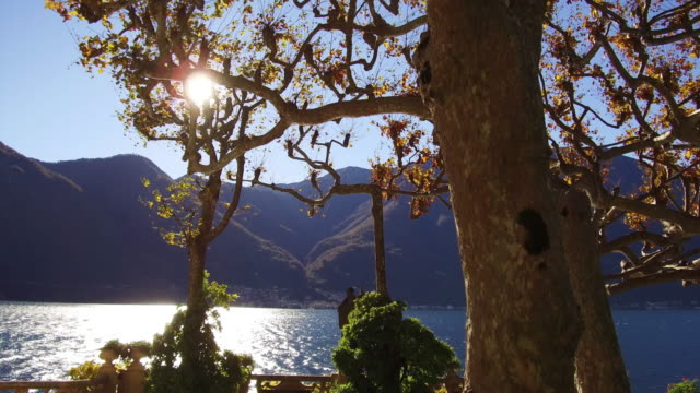 Italian Villa and gardens on Lake Como