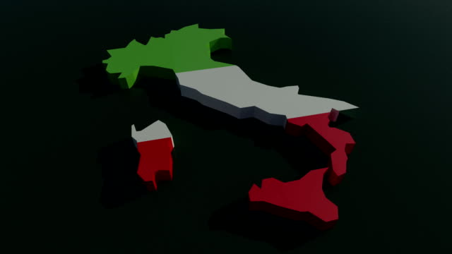 italy 3d animation - digital enhancement stock videos & royalty-free footage