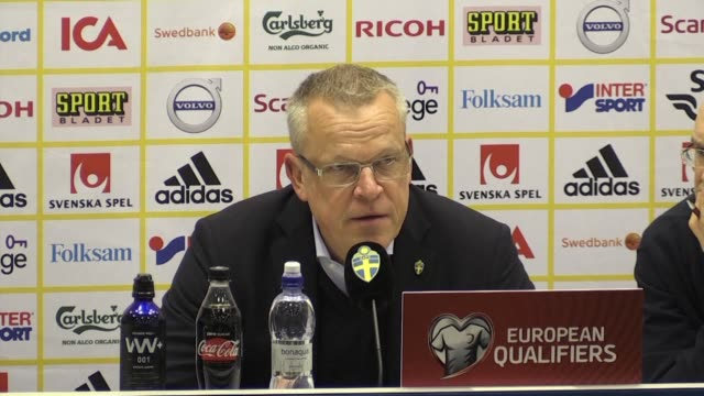 italy coach gian piero ventura insists that the four time champions will still make the 2018 world cup finals despite a 10 loss to sweden in the... - sportaktivitet bildbanksvideor och videomaterial från bakom kulisserna