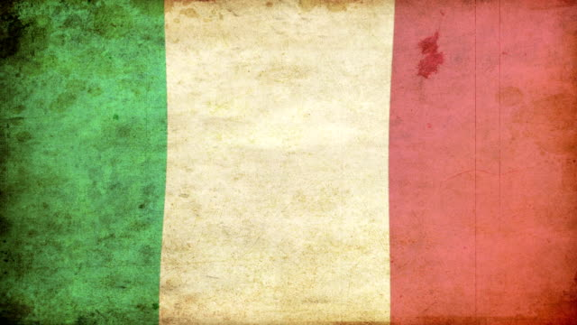 italy flag - grunge. hd - frayed stock videos & royalty-free footage