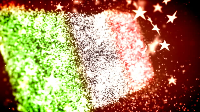italy flag - italian flag stock videos and b-roll footage