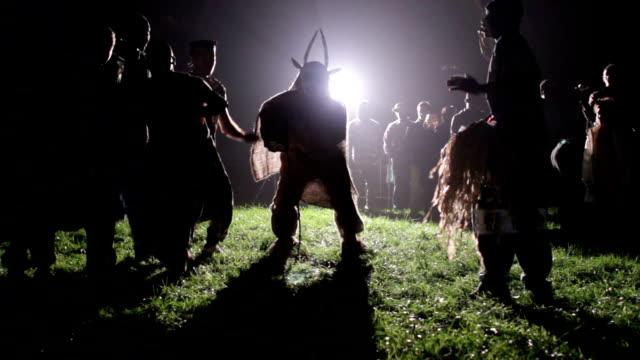 italy, senegalese dance of the group kassoumaye - sundog stock videos & royalty-free footage