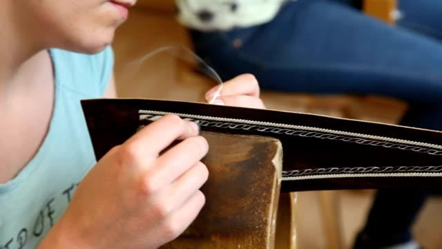 italy, sued tirol, alto adige, sarentino, sarntal - sewing stock videos & royalty-free footage