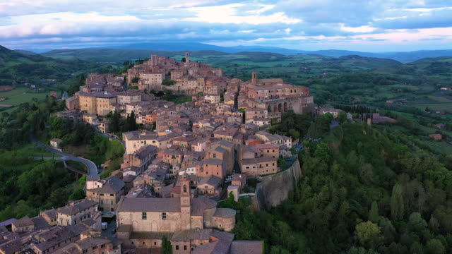italy, tuscany, siena province, montepulciano - european culture stock videos & royalty-free footage