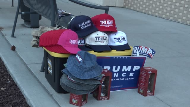Items for sale at Trump event