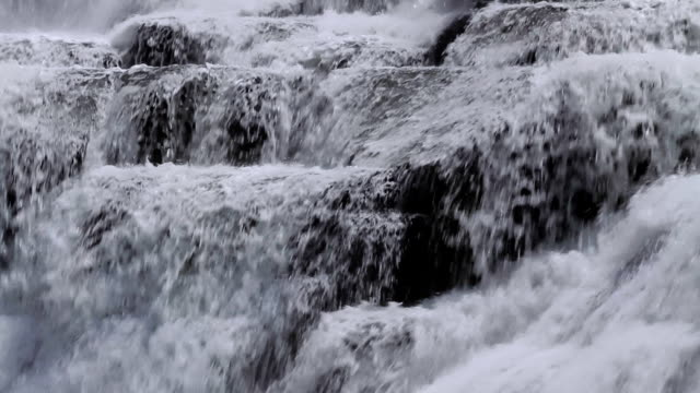 ithaca falls water hd - cayuga stock videos & royalty-free footage