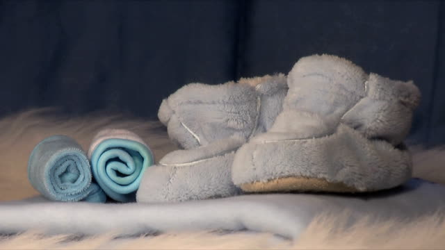 it's a boy (hd) - blanket texture stock videos and b-roll footage