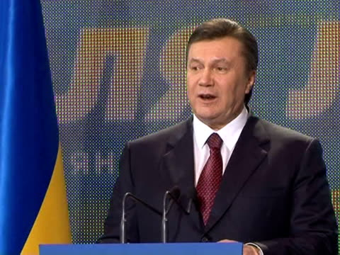 itõs a hard blow for supporters of the orange revolution: pro-russia candidate viktor yanukovich on monday won ukraine's presidency after squeezing... - ukraine stock videos & royalty-free footage