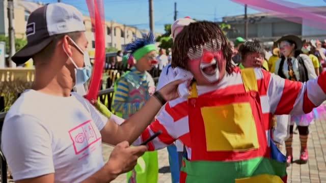 SLV: Clown Day celebrations go ahead in El Salvador despite pandemic