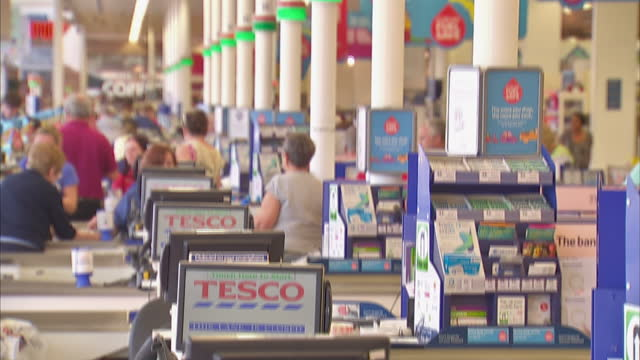 it's been ruled that tesco prioritised profits over the treatment of its suppliers in a move that means the company intentionally broke legally... - biggest stock videos & royalty-free footage