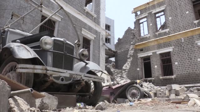 Its glass shattered central Aden's crumbling Clock Tower has stopped telling the time