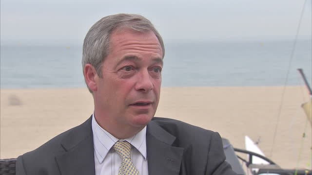 It's Nigel Farage's last night as UKIP leader and in a valedictory interview with Sky News he has launched a blistering attack on the party's only MP...