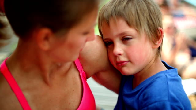 it's okay, mummy is here - consoling stock videos & royalty-free footage