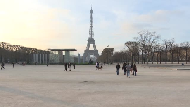It's one of Paris's most iconic locations but the Champs de Mars park that lies at the foot of the Eiffel Tower is leaving some visitors disappointed