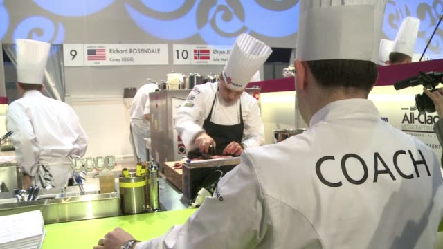 its one of the worlds most prestigious cooking competitions the bocuse dor pitting teams from 24 different countries against each other in a bid to... - dor stock videos & royalty-free footage