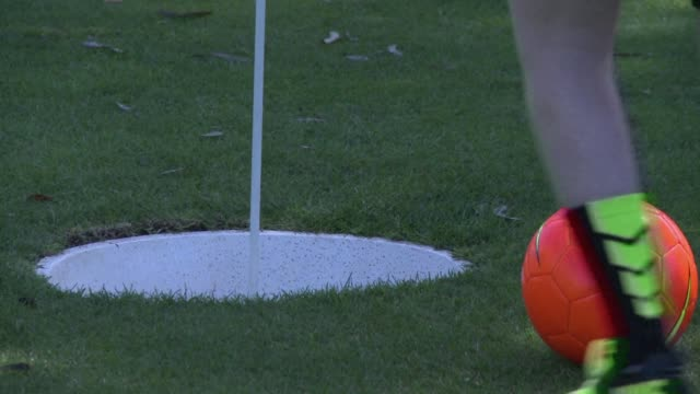 it's played in two dozen countries and some claim it's the fastest growing sport in the world. chances are youve never heard of footgolf, but it's a... - dozen stock videos & royalty-free footage