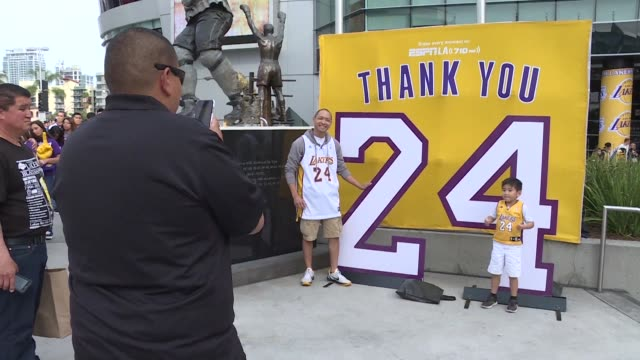 its the end of an era - kobe bryant stock videos & royalty-free footage