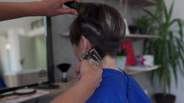 it's time for a new look - hair clipper stock videos & royalty-free footage