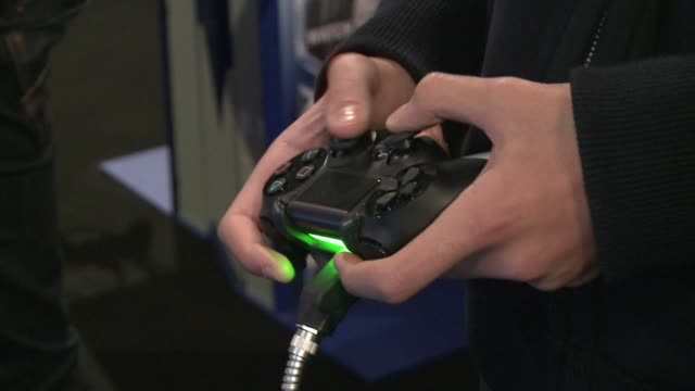 Its XboxOne versus Playstation 4 in France as the opponents new platforms are launched this month CLEAN XboxOne versus PS4 New consoles join batt on...