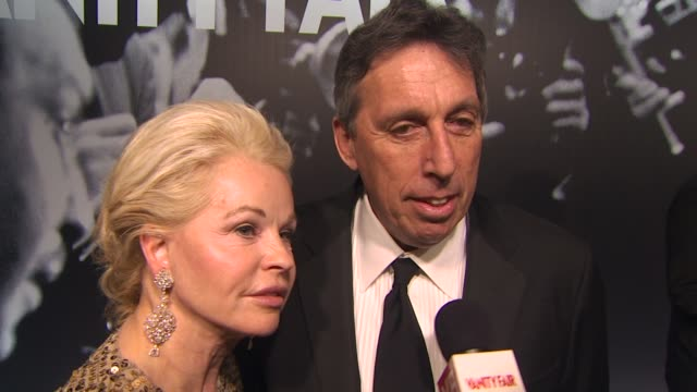 ivan reitman on alec baldwin and steve martin hosting the oscars at the 2010 vanity fair oscar party hosted by graydon carter at west hollywood ca - graydon carter stock videos and b-roll footage