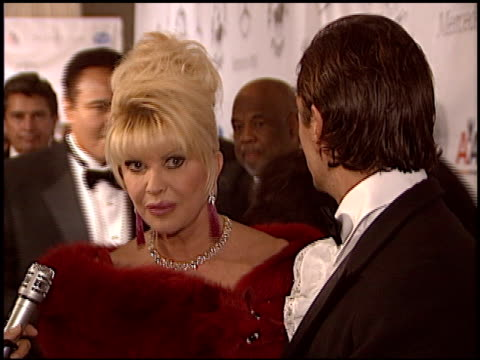 ivana trump at the carousel of hope gala at the beverly hilton in beverly hills california on october 23 2004 - carousel of hope stock videos and b-roll footage