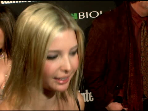 stockvideo's en b-roll-footage met ivanka trump at the entertainment weekly's viewing party for 2006 academy awards at elaine's in new york, new york on march 5, 2006. - entertainment weekly