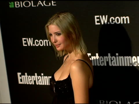 ivanka trump at the entertainment weekly's viewing party for 2006 academy awards at elaine's in new york, new york on march 5, 2006. - entertainment weekly stock videos & royalty-free footage